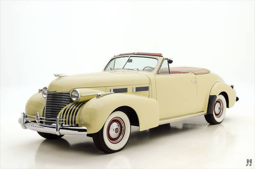1940 Cadillac Series 62 Convertible Coupe SOLD (picture 1 of 6)