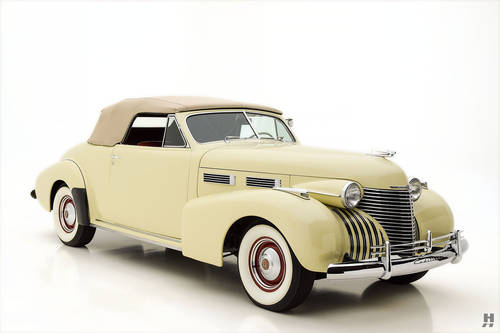 1940 Cadillac Series 62 Convertible Coupe SOLD (picture 2 of 6)