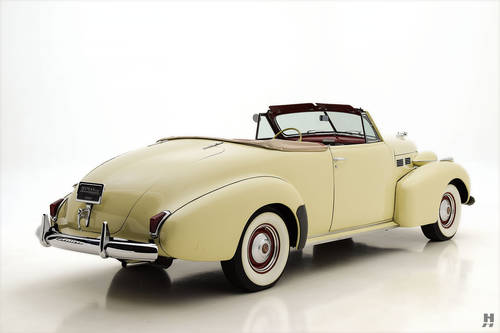 1940 Cadillac Series 62 Convertible Coupe SOLD (picture 3 of 6)