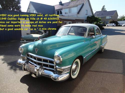 1949 Cadillac '49 Sedan For Sale (picture 5 of 6)