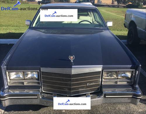 1984 Cadillac Eldorado 2 door coupé Biarritz For Sale (picture 1 of 6)