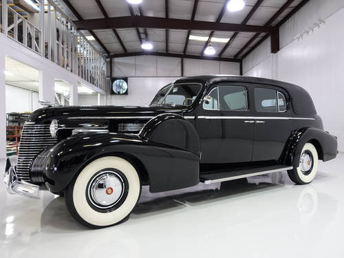 Howard Hughes' 1940 Cadillac Fleetwood Series 75 For Sale (picture 1 of 6)