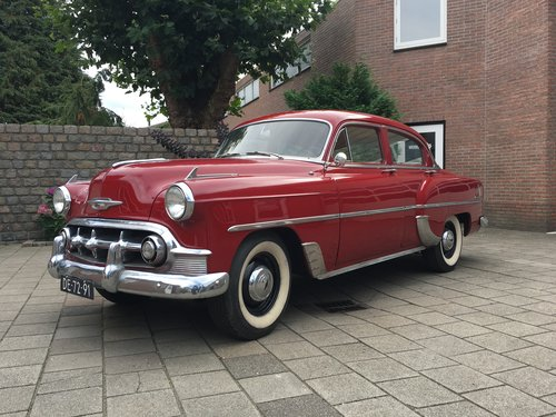 Chevrolet Bel Air 1953, 6 Cylinder, 87K, Manual.  For Sale (picture 1 of 6)