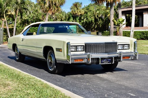 1976 Cadillac Eldorado 2,500 miles, show quality  For Sale (picture 1 of 6)