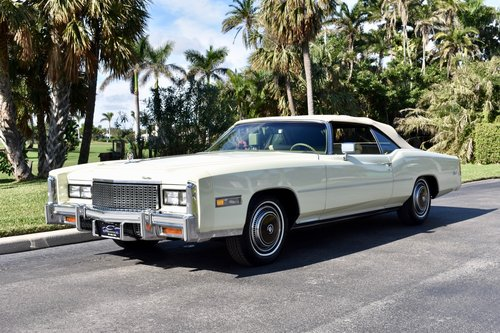 1976 Cadillac Eldorado 2,500 miles, show quality  For Sale (picture 3 of 6)