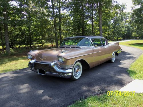 1957 Cadillac Eldorado Seville 2DR HT For Sale (picture 1 of 6)