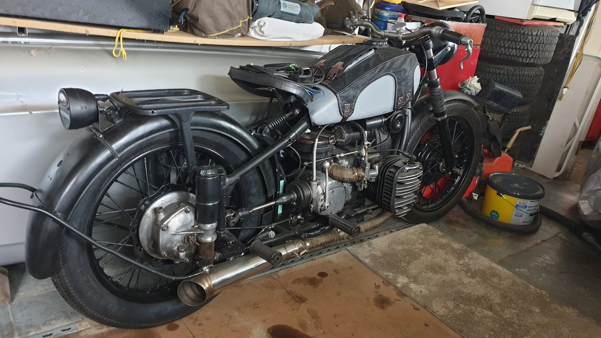 1958 KMZ M72 Unfinished Project For Sale (picture 2 of 4)