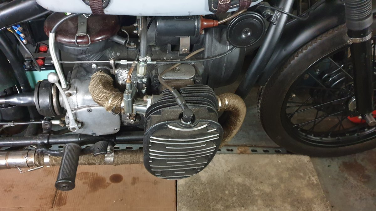 1958 KMZ M72 Unfinished Project For Sale (picture 3 of 4)