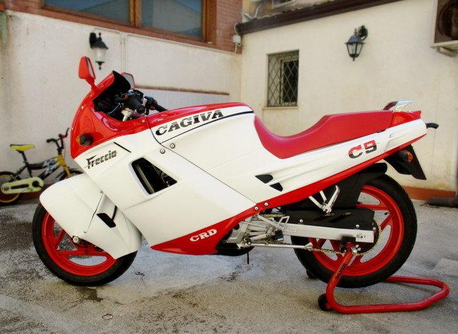 CAGIVA 125 FRECCIA C9 (1987) JUST RESTORED For Sale (picture 1 of 6)