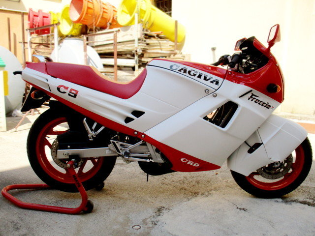 CAGIVA 125 FRECCIA C9 (1987) JUST RESTORED For Sale (picture 2 of 6)