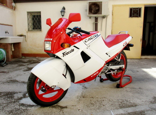 CAGIVA 125 FRECCIA C9 (1987) JUST RESTORED For Sale (picture 3 of 6)