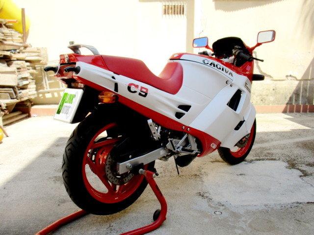 CAGIVA 125 FRECCIA C9 (1987) JUST RESTORED For Sale (picture 4 of 6)