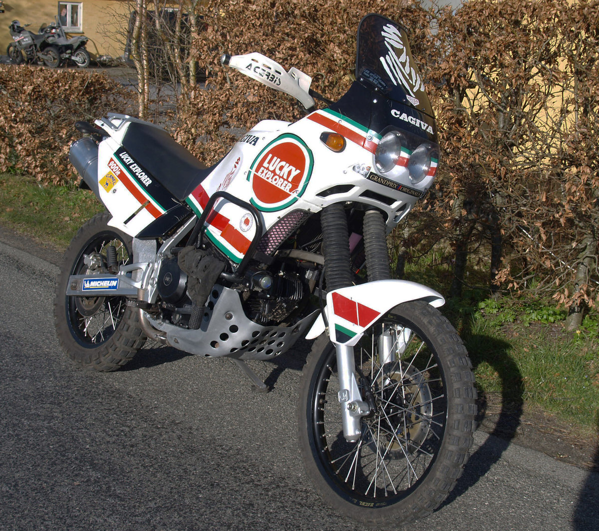 1990 CAGIVA ELEFANT LUCKY EXPLORER 900ie For Sale (picture 1 of 6)