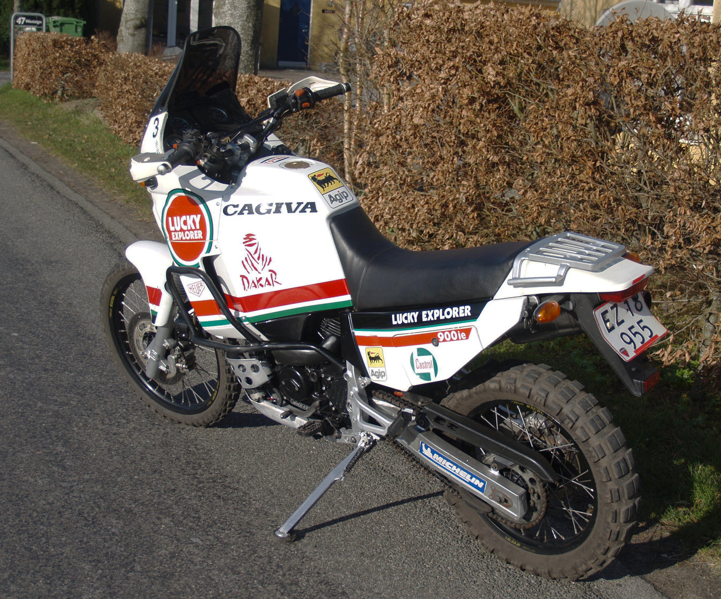 1990 CAGIVA ELEFANT LUCKY EXPLORER 900ie For Sale (picture 2 of 6)