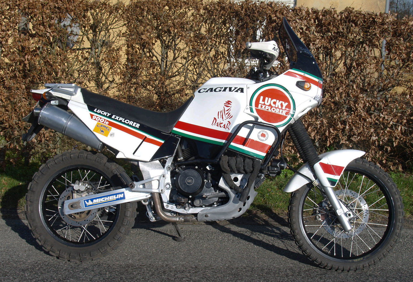 1990 CAGIVA ELEFANT LUCKY EXPLORER 900ie For Sale (picture 6 of 6)