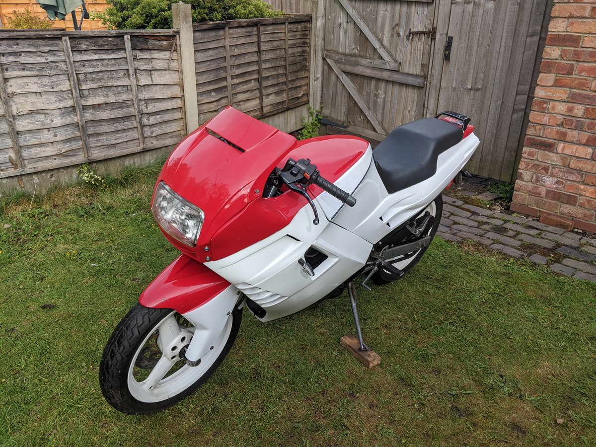 1989 Cagiva Freccia 125R (25k miles) For Sale (picture 1 of 6)