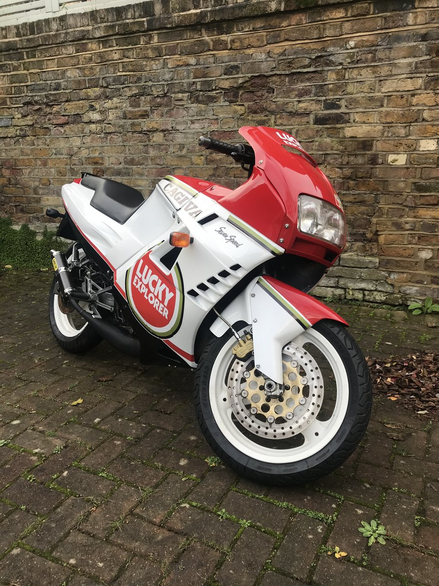 Picture of 1989 Cagiva Freccia C12R Lucky Explorer 125cc For Sale