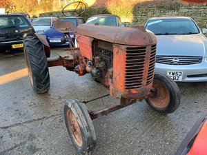 0000 1940s- 50s Case VA Tractor SOLD by Auction