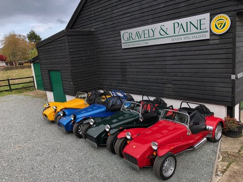 GP SEVENS WANT YOUR CATERHAM? Call the