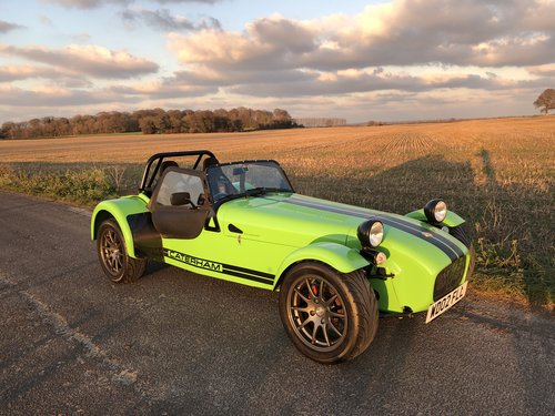 Caterham Seven 1.6K Series, 2002.  5 Speed De Dion.  1.6K. SOLD (picture 1 of 6)
