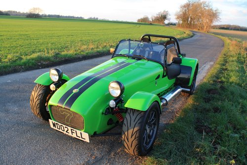 Caterham Seven 1.6K Series, 2002.  5 Speed De Dion.  1.6K. SOLD (picture 2 of 6)
