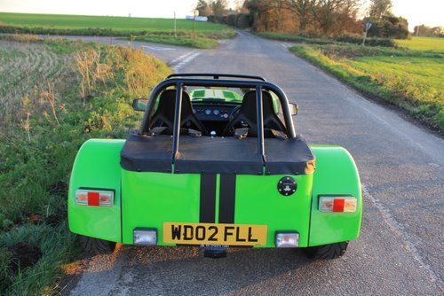 Caterham Seven 1.6K Series, 2002.  5 Speed De Dion.  1.6K. SOLD (picture 3 of 6)