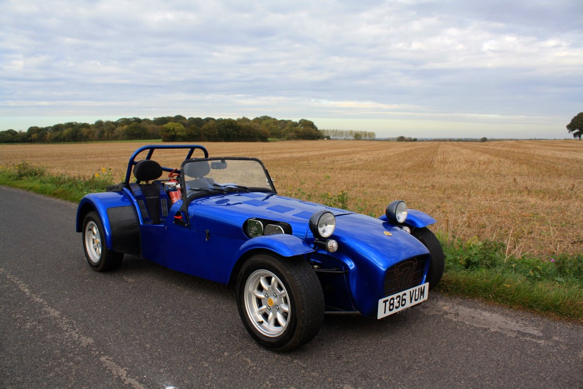 Caterham Seven Vauxhall Classic, 1999.  5 Speed.   For Sale (picture 1 of 6)