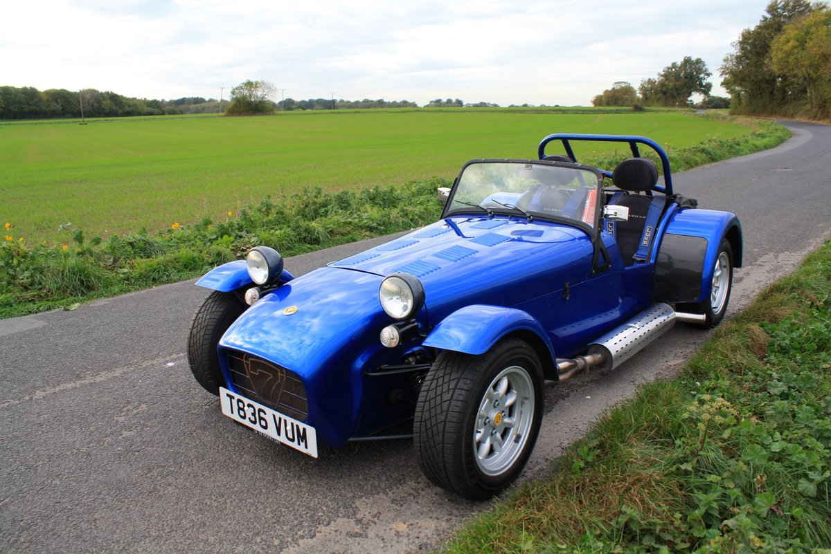 Caterham Seven Vauxhall Classic, 1999.  5 Speed.   For Sale (picture 2 of 6)