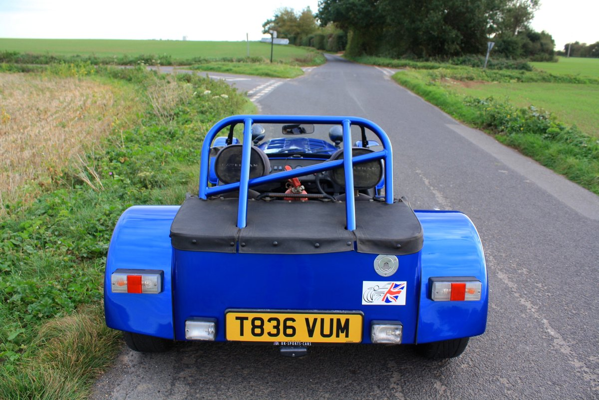 Caterham Seven Vauxhall Classic, 1999.  5 Speed.   For Sale (picture 3 of 6)