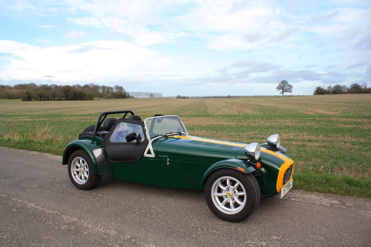 Caterham Seven 1.8K Series, 2004.  FACTORY BUILT.  ONE OWNER SOLD (picture 1 of 6)