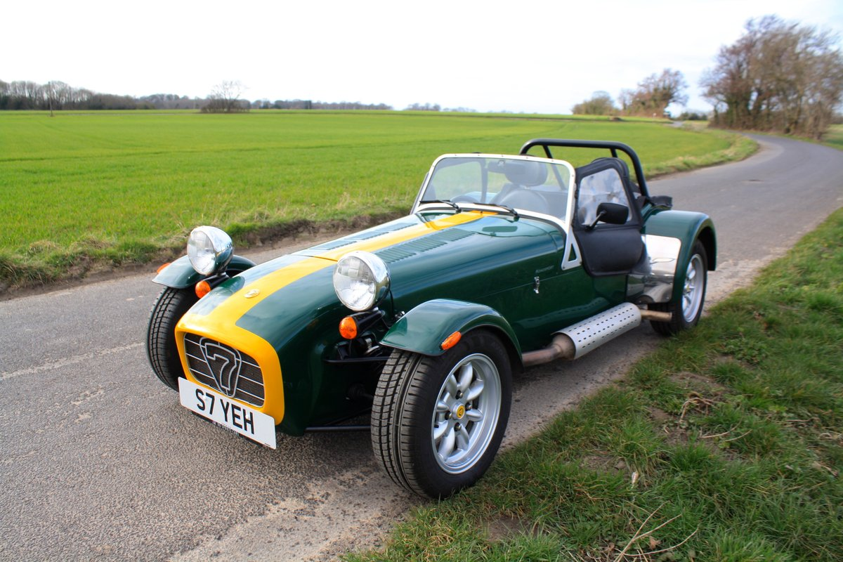 Caterham Seven 1.8K Series, 2004.  FACTORY BUILT.  ONE OWNER SOLD (picture 2 of 6)