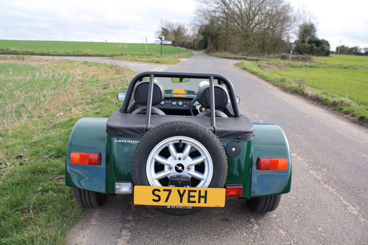 Caterham Seven 1.8K Series, 2004.  FACTORY BUILT.  ONE OWNER SOLD (picture 3 of 6)