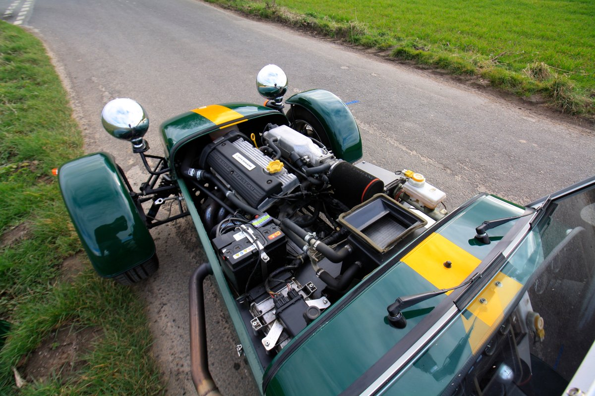Caterham Seven 1.8K Series, 2004.  FACTORY BUILT.  ONE OWNER SOLD (picture 4 of 6)