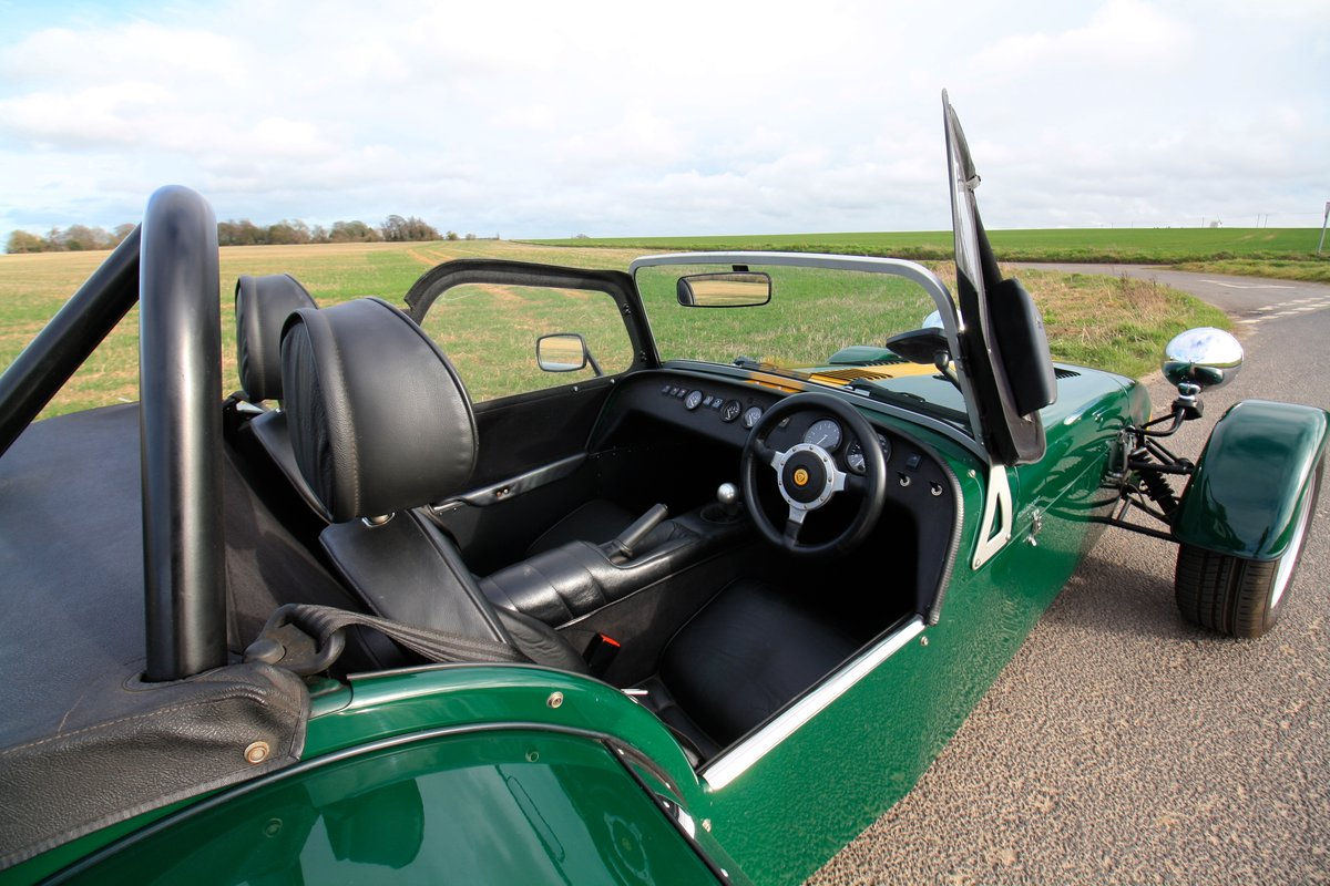 Caterham Seven 1.8K Series, 2004.  FACTORY BUILT.  ONE OWNER SOLD (picture 6 of 6)