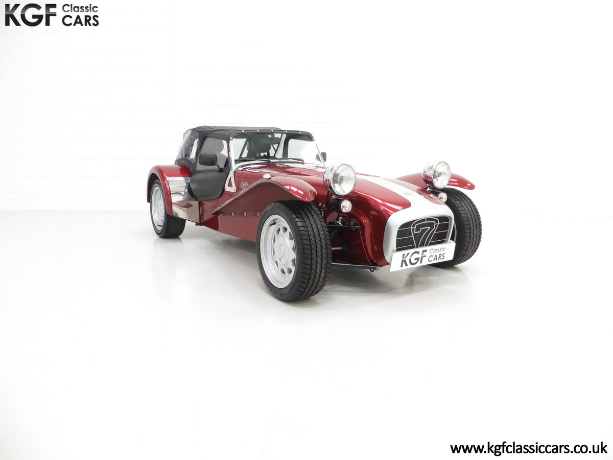 1997 A Very Rare Caterham Seven K-Series 40th Anniversary SOLD (picture 1 of 6)