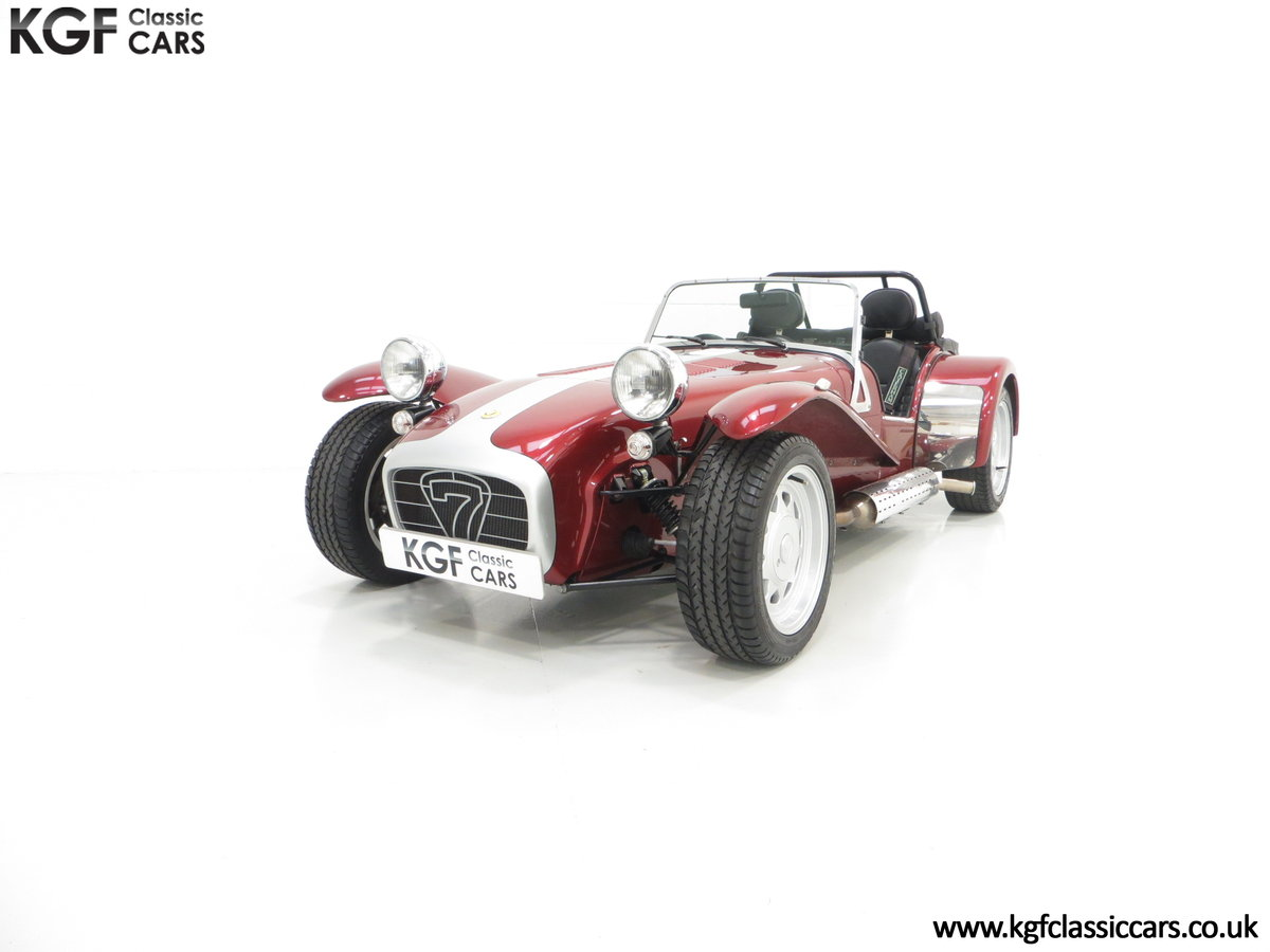 1997 A Very Rare Caterham Seven K-Series 40th Anniversary SOLD (picture 2 of 6)