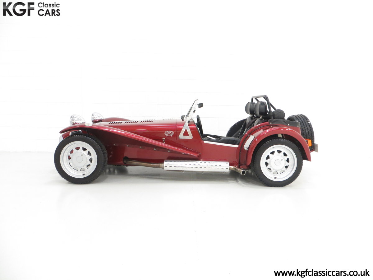 1997 A Very Rare Caterham Seven K-Series 40th Anniversary SOLD (picture 3 of 6)
