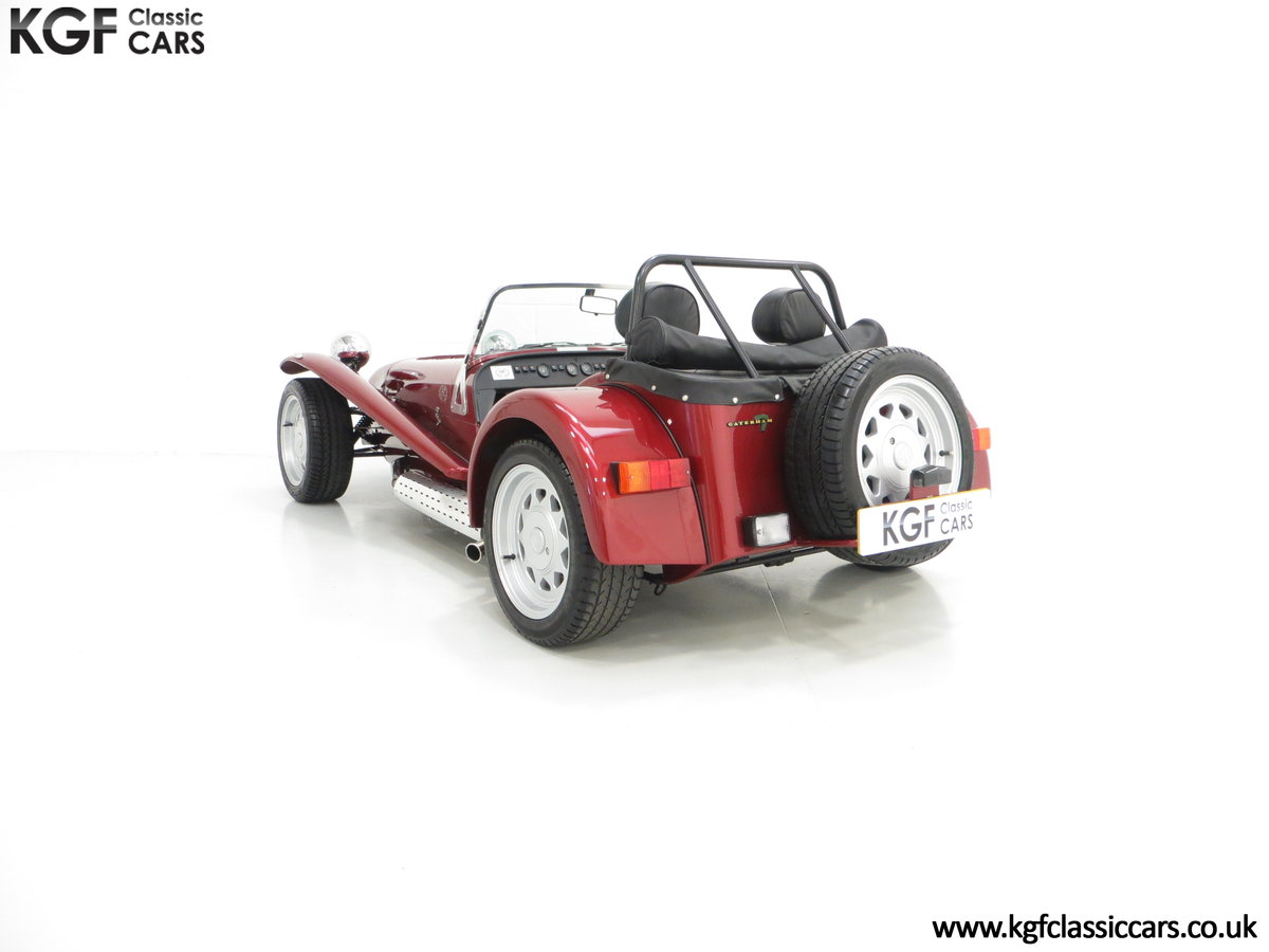 1997 A Very Rare Caterham Seven K-Series 40th Anniversary SOLD (picture 4 of 6)