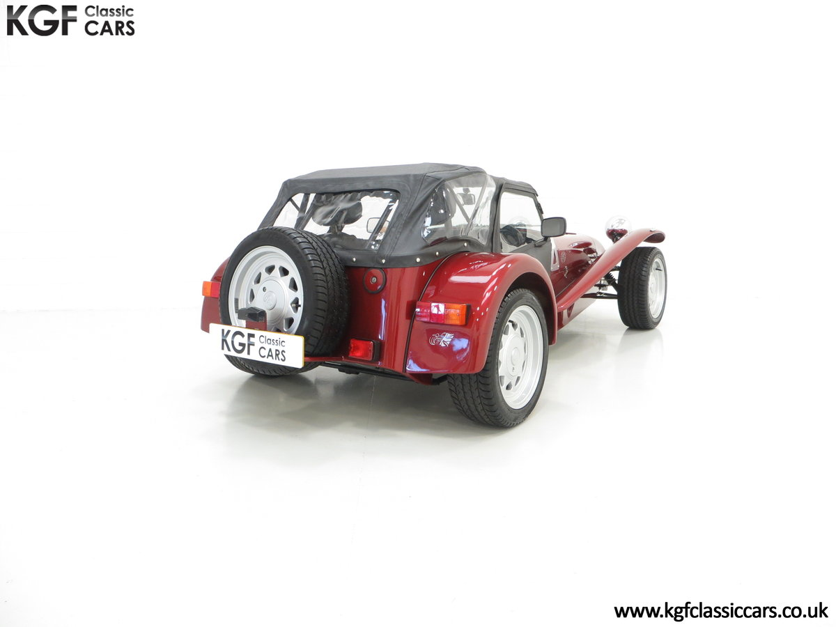 1997 A Very Rare Caterham Seven K-Series 40th Anniversary SOLD (picture 5 of 6)