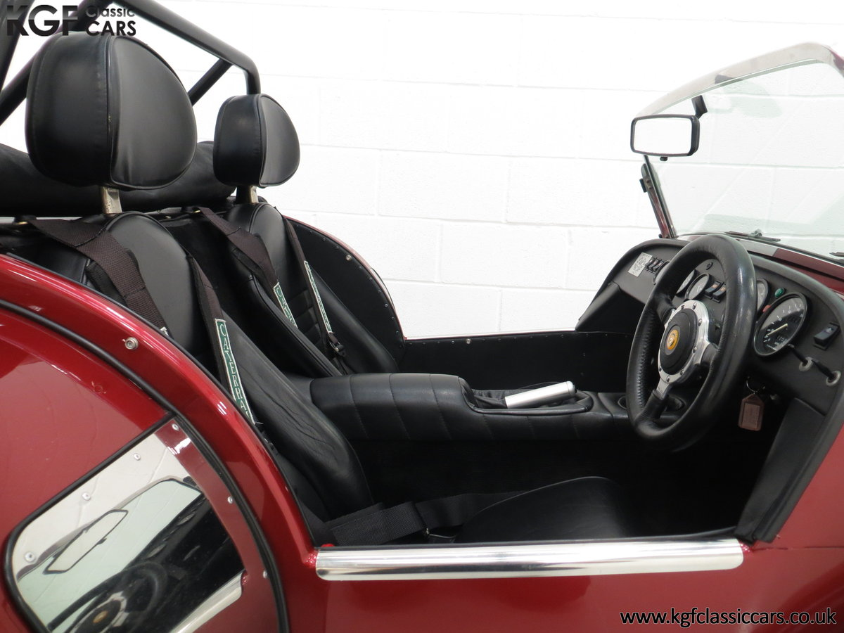 1997 A Very Rare Caterham Seven K-Series 40th Anniversary SOLD (picture 6 of 6)