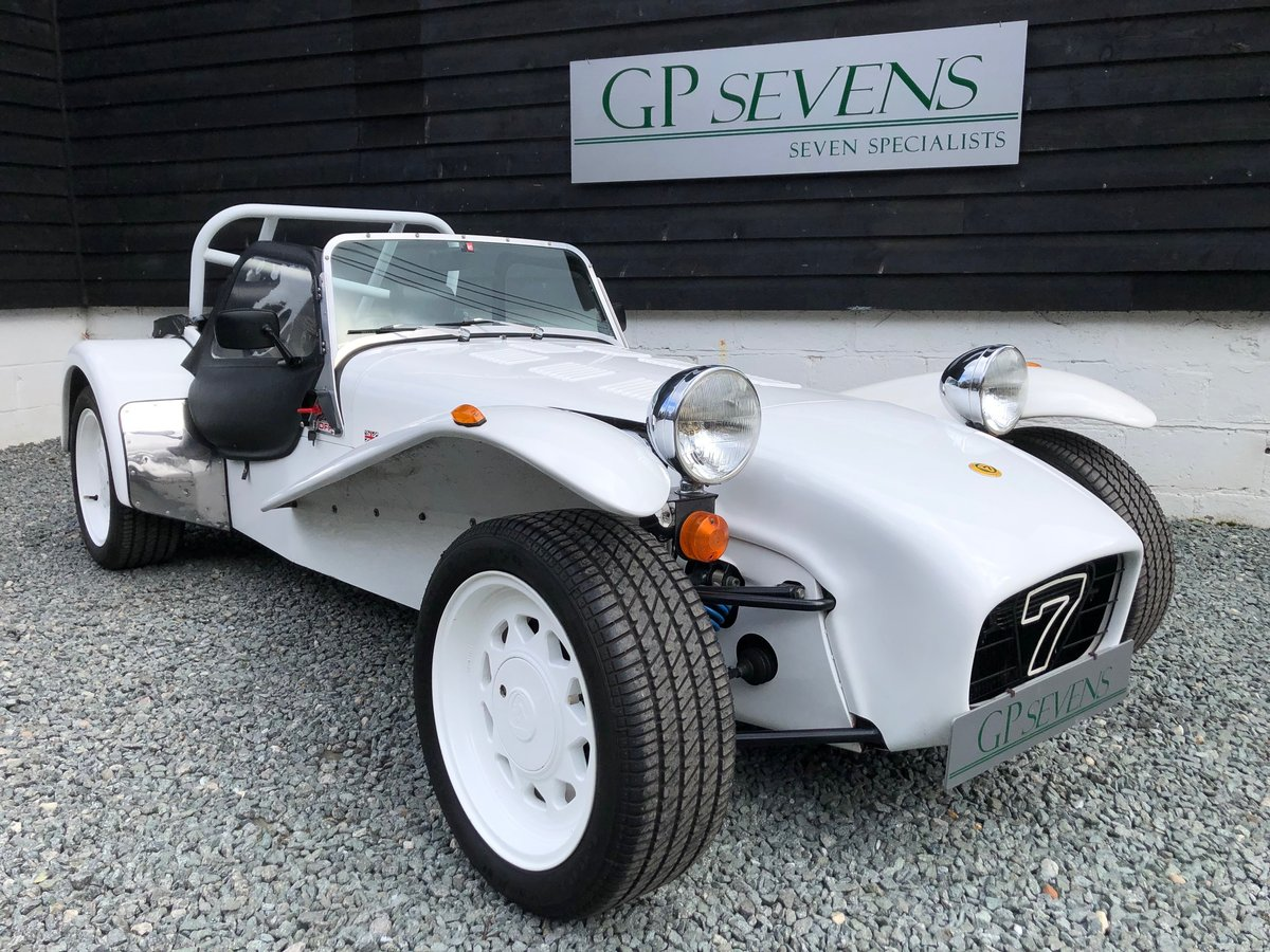 1990 Caterham Supersprint 'Plus' SPR 1.7 Ford X Flow 1 owner For Sale (picture 1 of 6)