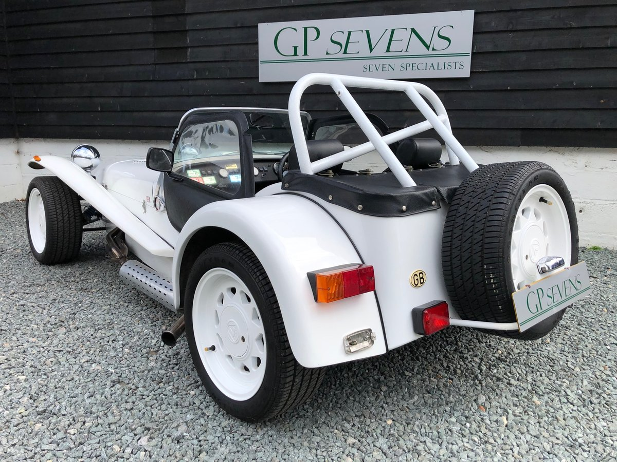 1990 Caterham Supersprint 'Plus' SPR 1.7 Ford X Flow 1 owner For Sale (picture 2 of 6)