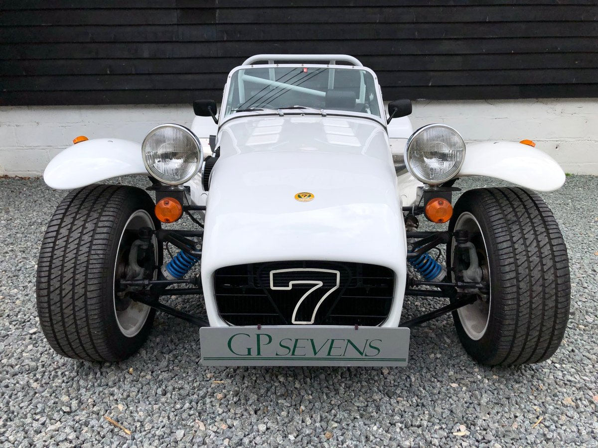 1990 Caterham Supersprint 'Plus' SPR 1.7 Ford X Flow 1 owner For Sale (picture 3 of 6)