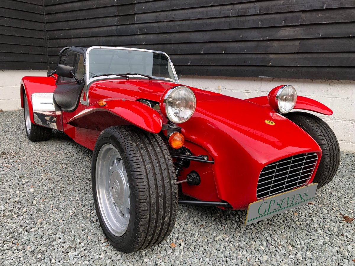 1992 Caterham Supersprint 'Plus' SPR 1.7 Ford X Flow 1 owner SOLD (picture 1 of 6)