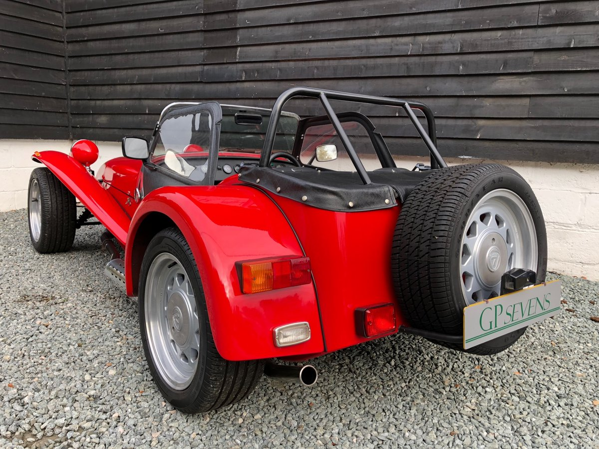 1992 Caterham Supersprint 'Plus' SPR 1.7 Ford X Flow 1 owner SOLD (picture 2 of 6)