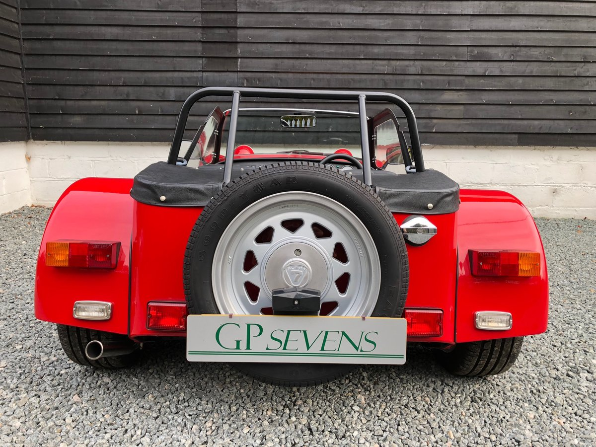 1992 Caterham Supersprint 'Plus' SPR 1.7 Ford X Flow 1 owner SOLD (picture 5 of 6)
