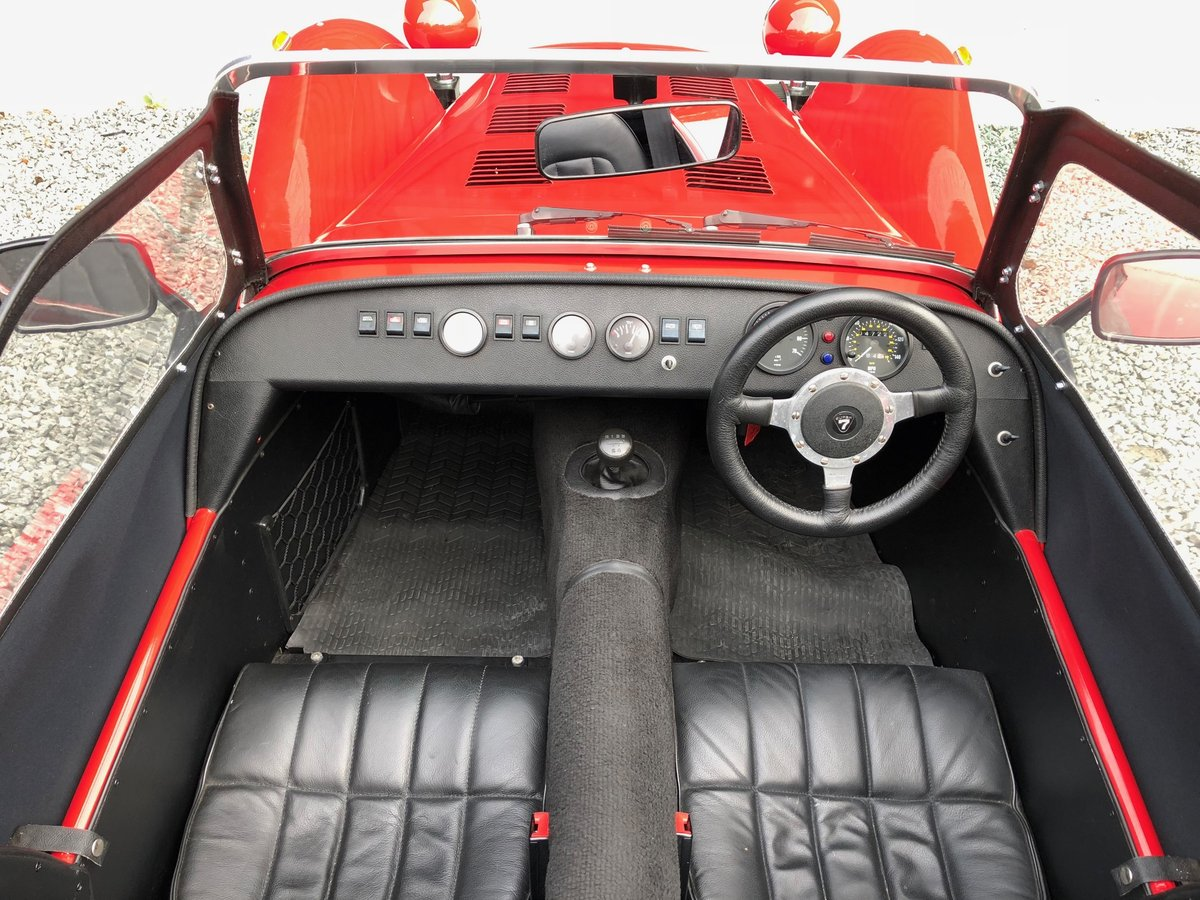 1992 Caterham Supersprint 'Plus' SPR 1.7 Ford X Flow 1 owner SOLD (picture 6 of 6)