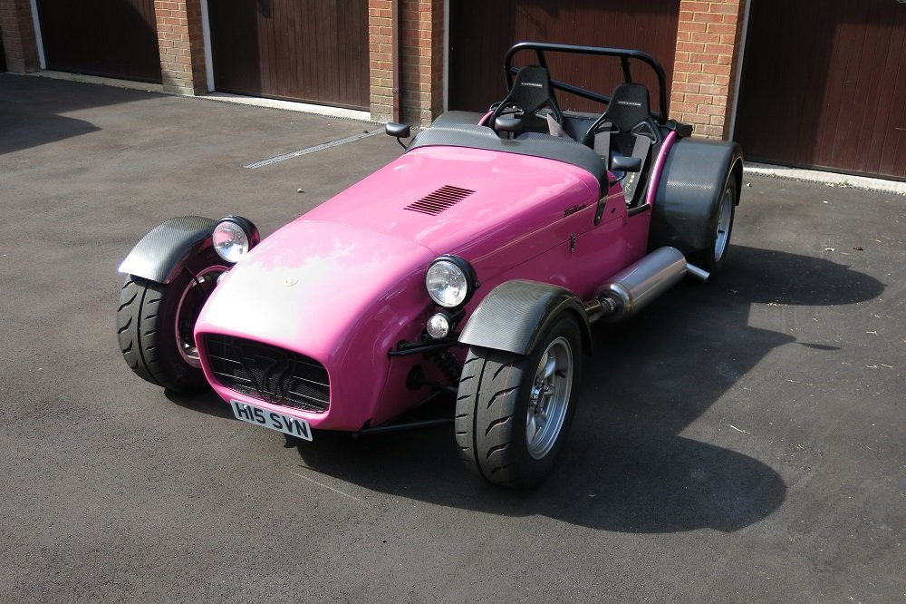 2003 James Whiting Caterham 7 Fireblade For Sale (picture 1 of 6)