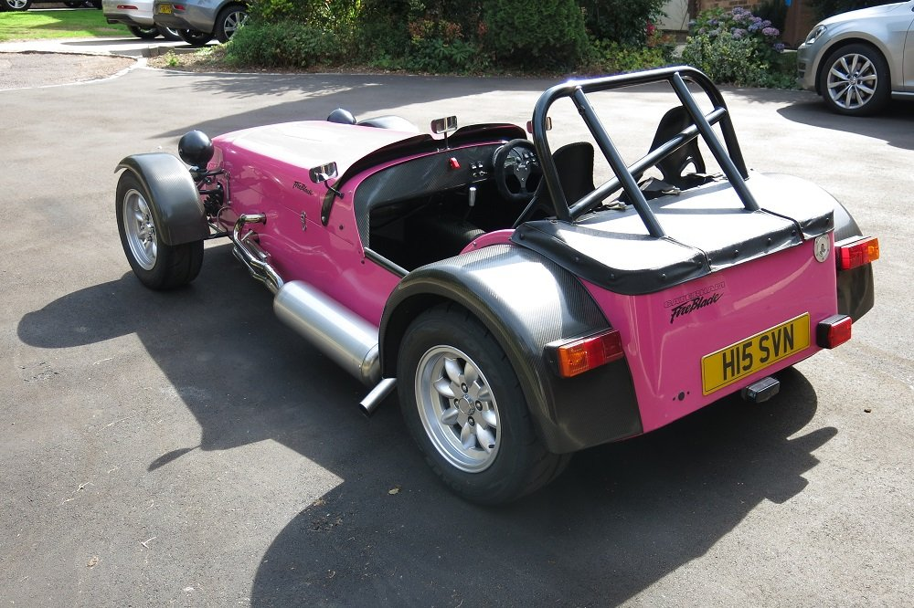 2003 James Whiting Caterham 7 Fireblade For Sale (picture 5 of 6)
