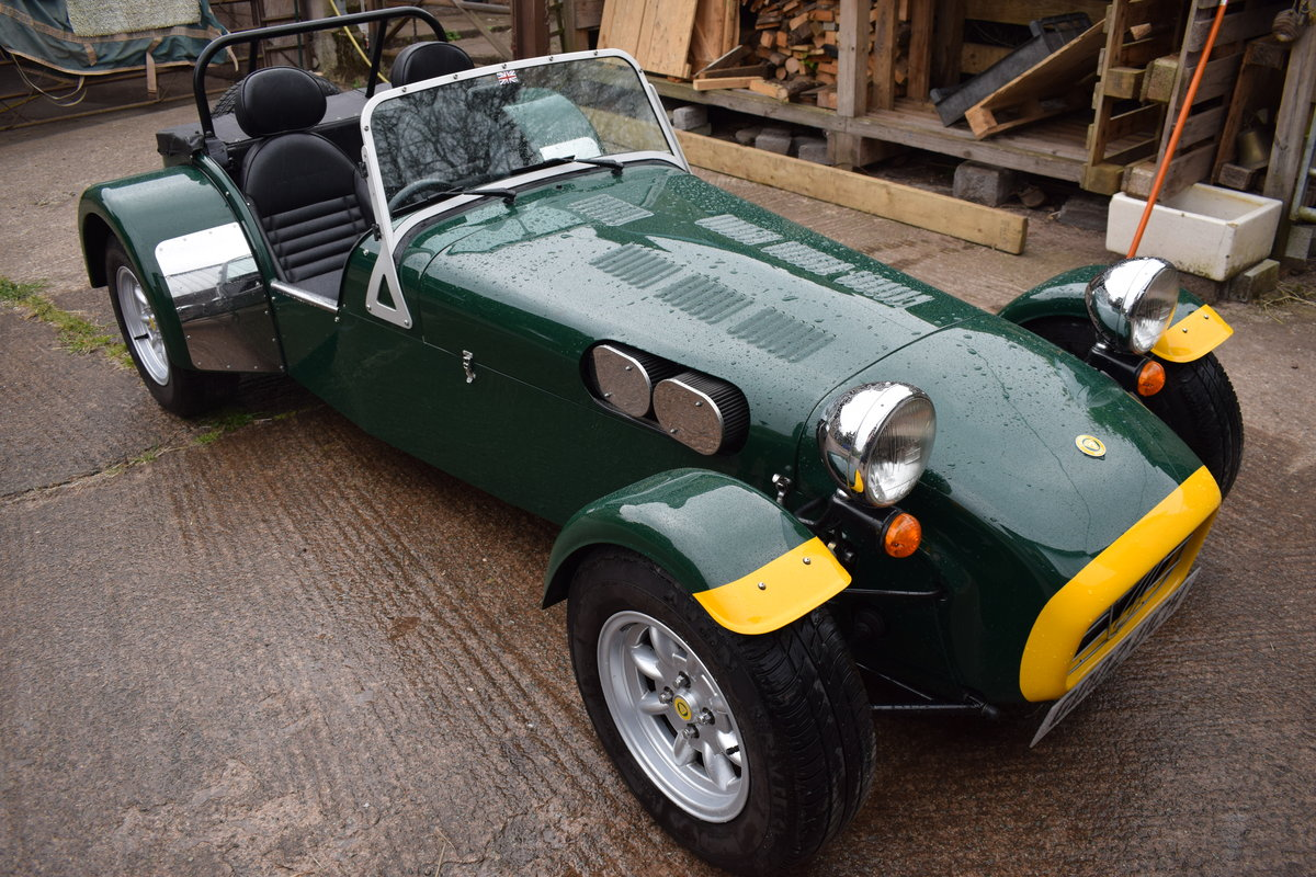 "2002 Caterham Seven Classic ""Beaulieu"" Ltd Edition SOLD (picture 1 of 6)"